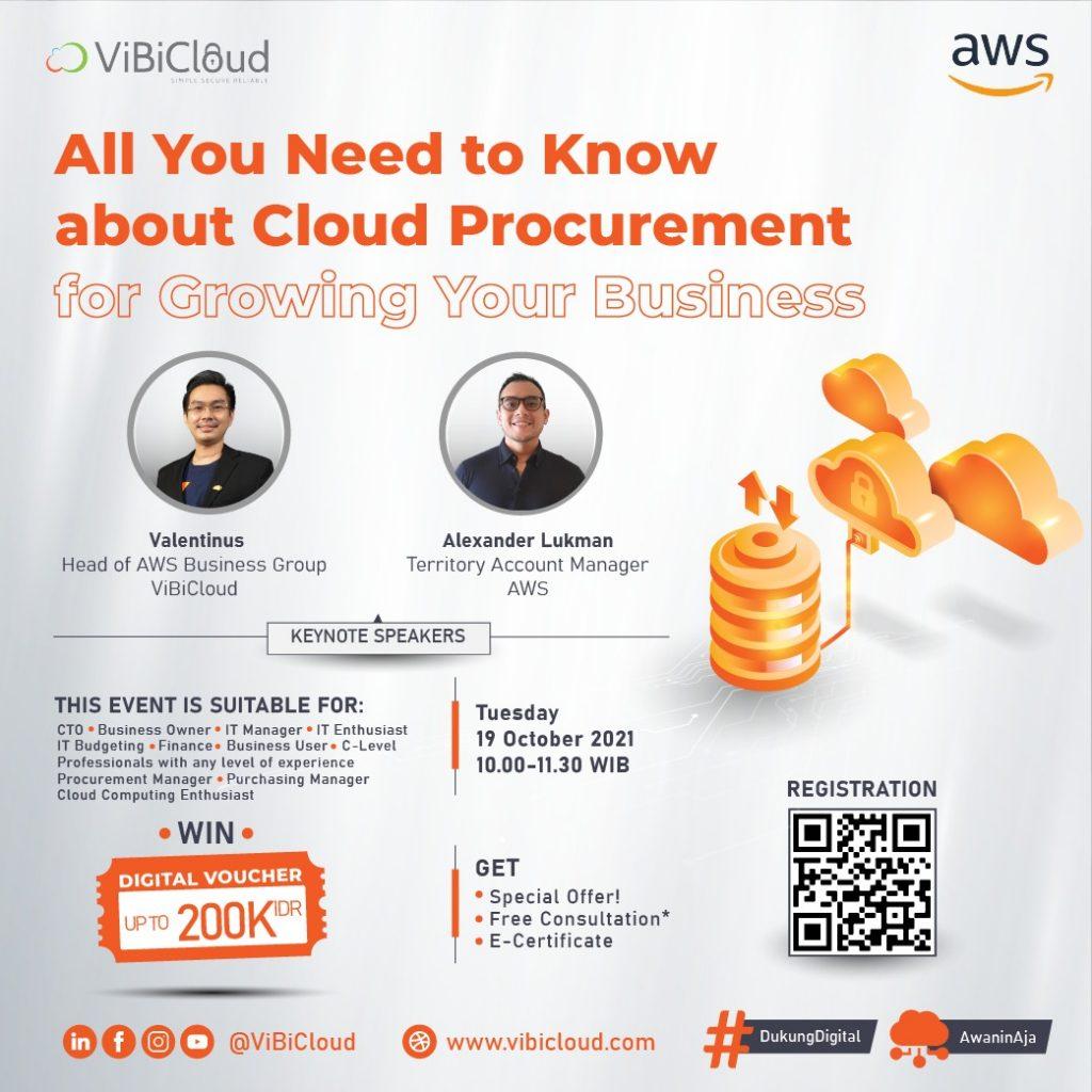 Webinar Cloud Procurement - ViBiCloud