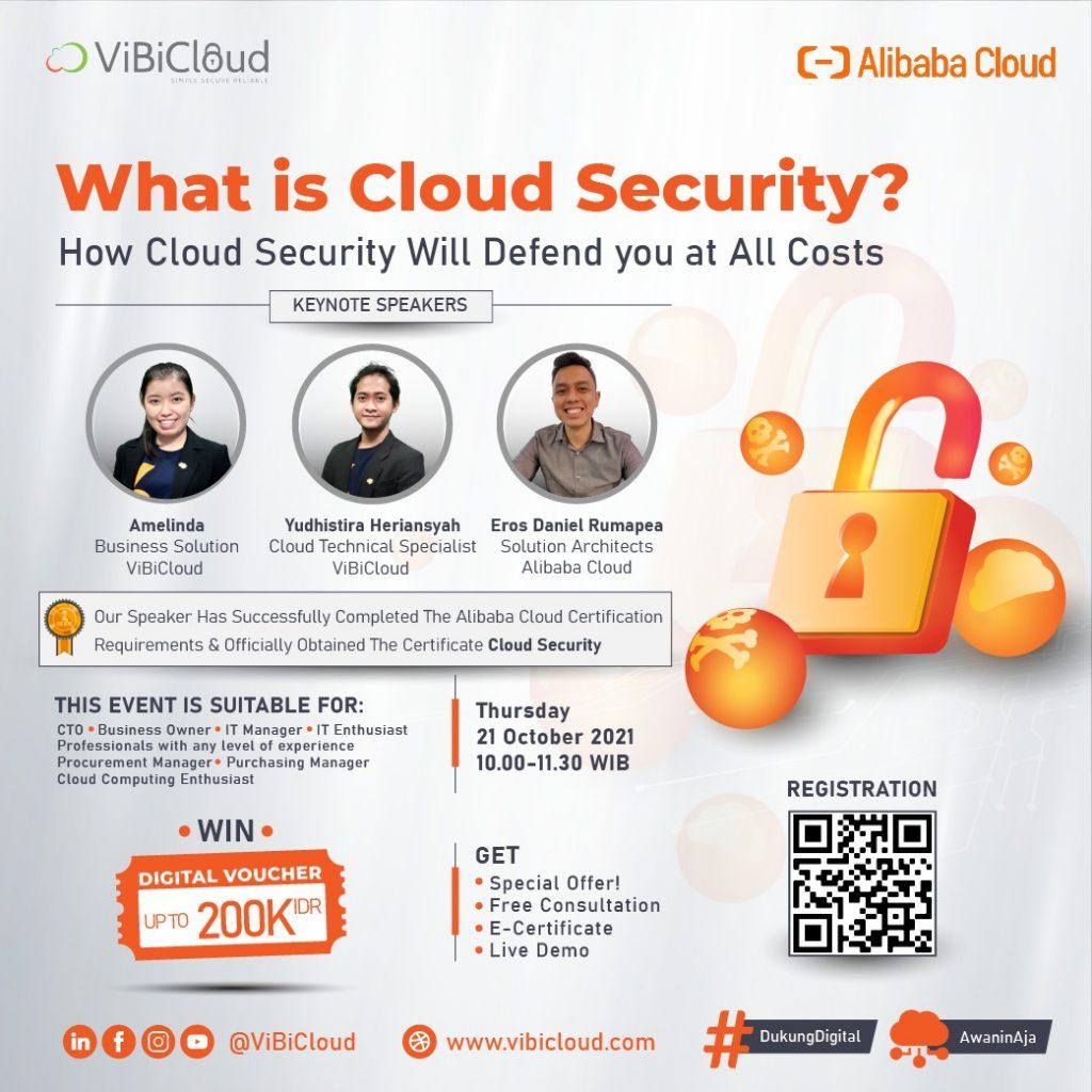 Webinar Cloud Security - ViBiCloud